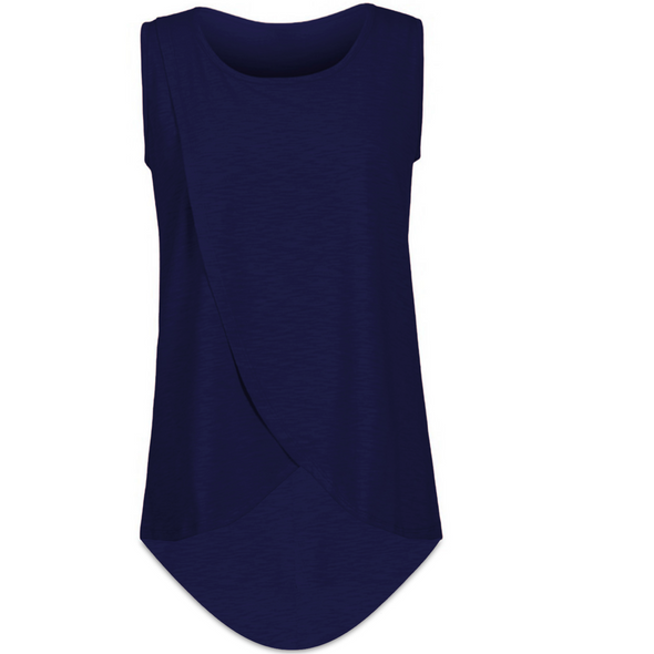 Barcelona Sleeveless Nursing Top
