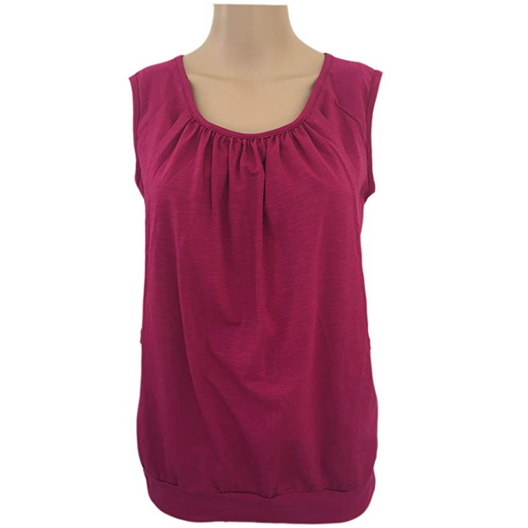 Seville Sleeveless Nursing Top