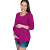 Maternity and Nursing Boho Top for Breastfeeding
