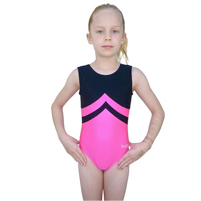 Smart Stretch Girl Gymnastics Leotard - Symmetry