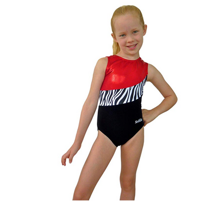 Girl Gymnastics Leotard 4-Way Smart Stretch - Dynamic