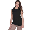 Empire Waist Nursing Top - Sleeveless Cowl Neck CLEARANCE