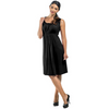 Maternity & Nursing Dress Elastic Neck Empire Waist - Sleeveless CLEARANCE