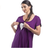 Short Sleeve Nursing Sleepwear Breastfeeding/Nightgown CLEARANCE