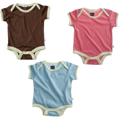 Baby Soy Short Sleeve Basic Bodysuit