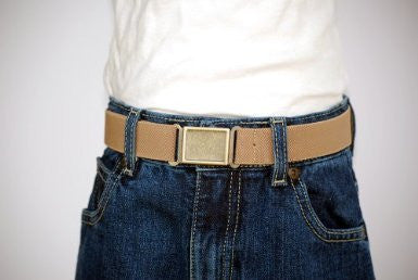 Big Kid Belts - Adjustable Elastic Belts - Made in the USA