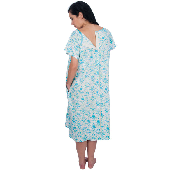 The Patient Gown - Hospital Maternity Delivery/Birthing/Labor Patient Convalescent Gown