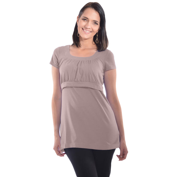 Empire Waist Nursing Top