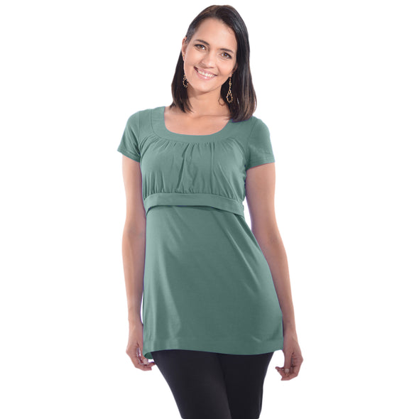 Empire Waist Nursing Top CLEARANCE