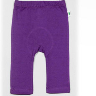 Organic Cotton Flexi Pants - Eggplant