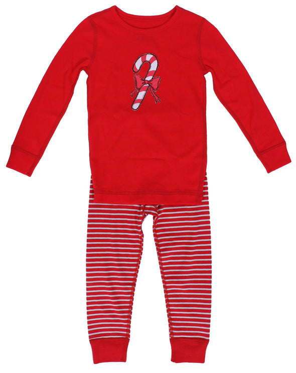 Skylar Luna Organic Cotton Long Sleeve Holiday Pajamas CLEARANCE