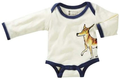 Janey Organic Baby Bodysuit by Baby Soy