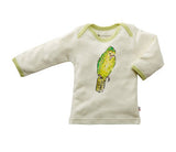 Janey Organic Long Sleeve Baby Lounge Tee