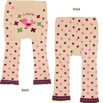 Japanese Baby Leggings - Bird