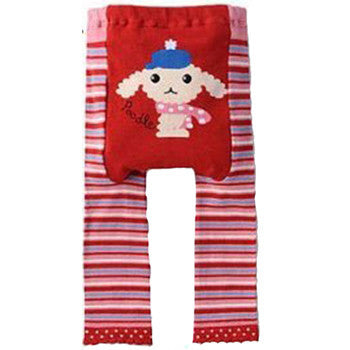 Japanese Baby Leggings - Poodle