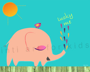 Printable Wall Art for Kids - Lucky Me