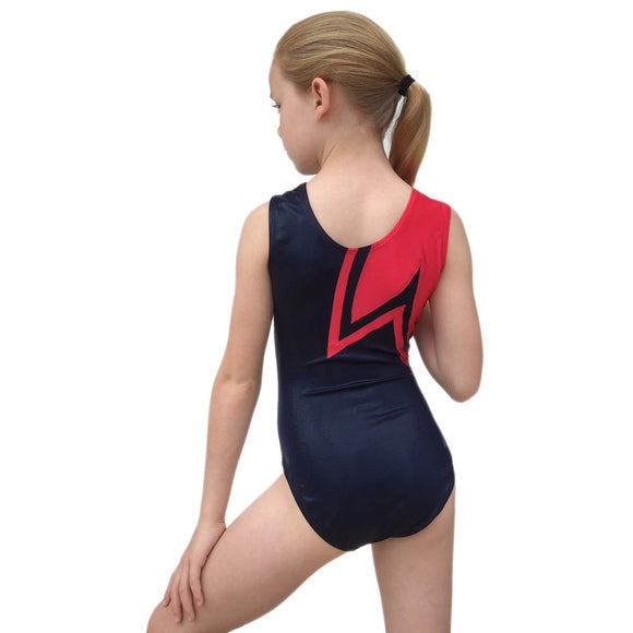 Smart Stretch Girl Gymnastics Leotard - Vault