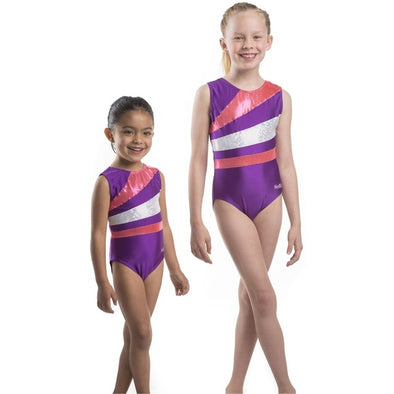 Smart Stretch Girl Gymnastics Leotard - Flip