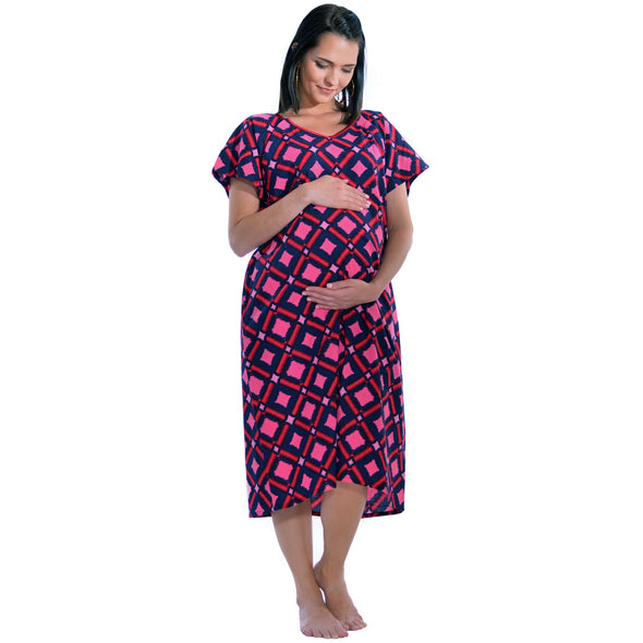 Designer Hospital Maternity and Delivery Gown