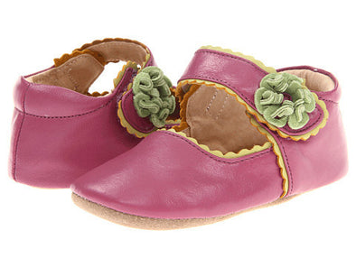 Livie & Luca Merry Bell Baby Shoes - Violet