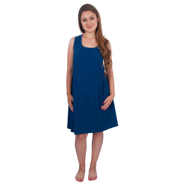 Sleeveless Nursing Sleepwear Breastfeeding/Nightgown CLEARANCE