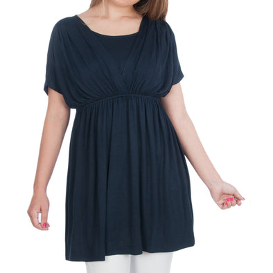 Maternity and Nursing Tunic for Tall Women CLEARANCE