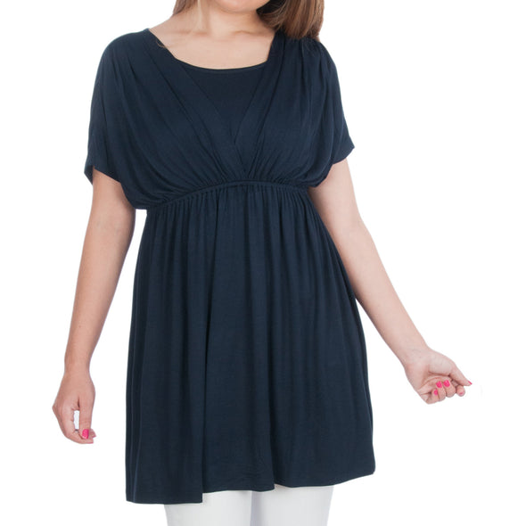 Maternity and Nursing Tunic for Tall Women