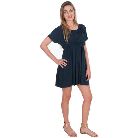 Nursing Tunic Short Dress