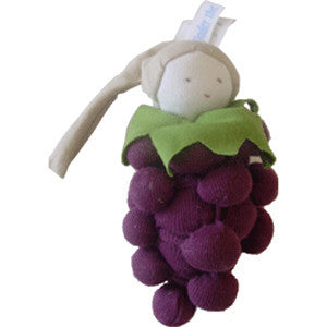 Grapes - Organic Cotton Soft Teether Toys