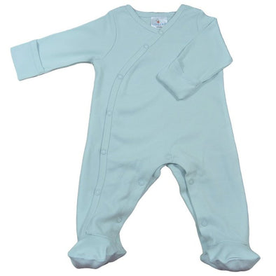 Organic Cotton One-Piece Footie Baby Romper CLEARANCE