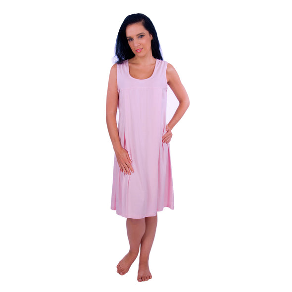 Sleeveless Nursing Sleepwear Breastfeeding/Nightgown