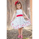 Organic Cotton Pretty Border Dress