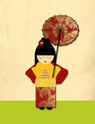 Printable Wall Art for Kids - Geisha