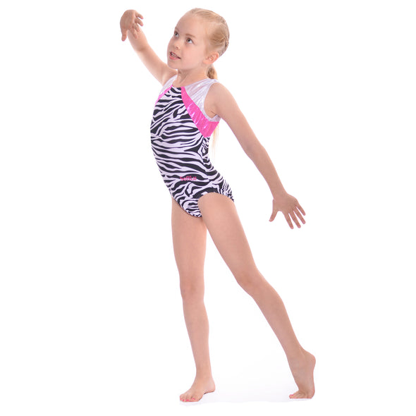 Smart Stretch Girl Gymnastics Leotard - Pirouette