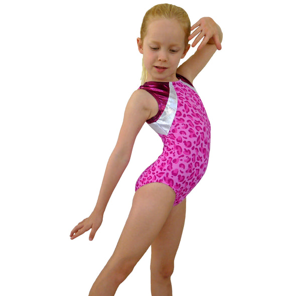 SofiLu Girl Gymnastics Leotard Smart Stretch - Rudi
