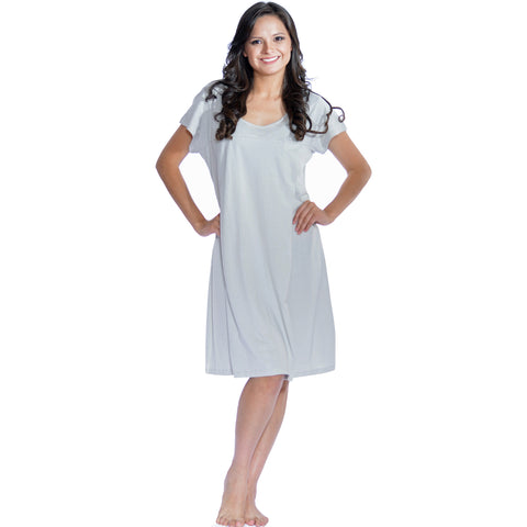 Short Sleeve Nursing Sleepwear Breastfeeding/Nightgown