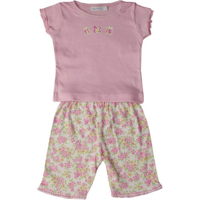 Under the Nile Top with Shorts Butterfly/Flower for Baby Toddler CLEARANCE