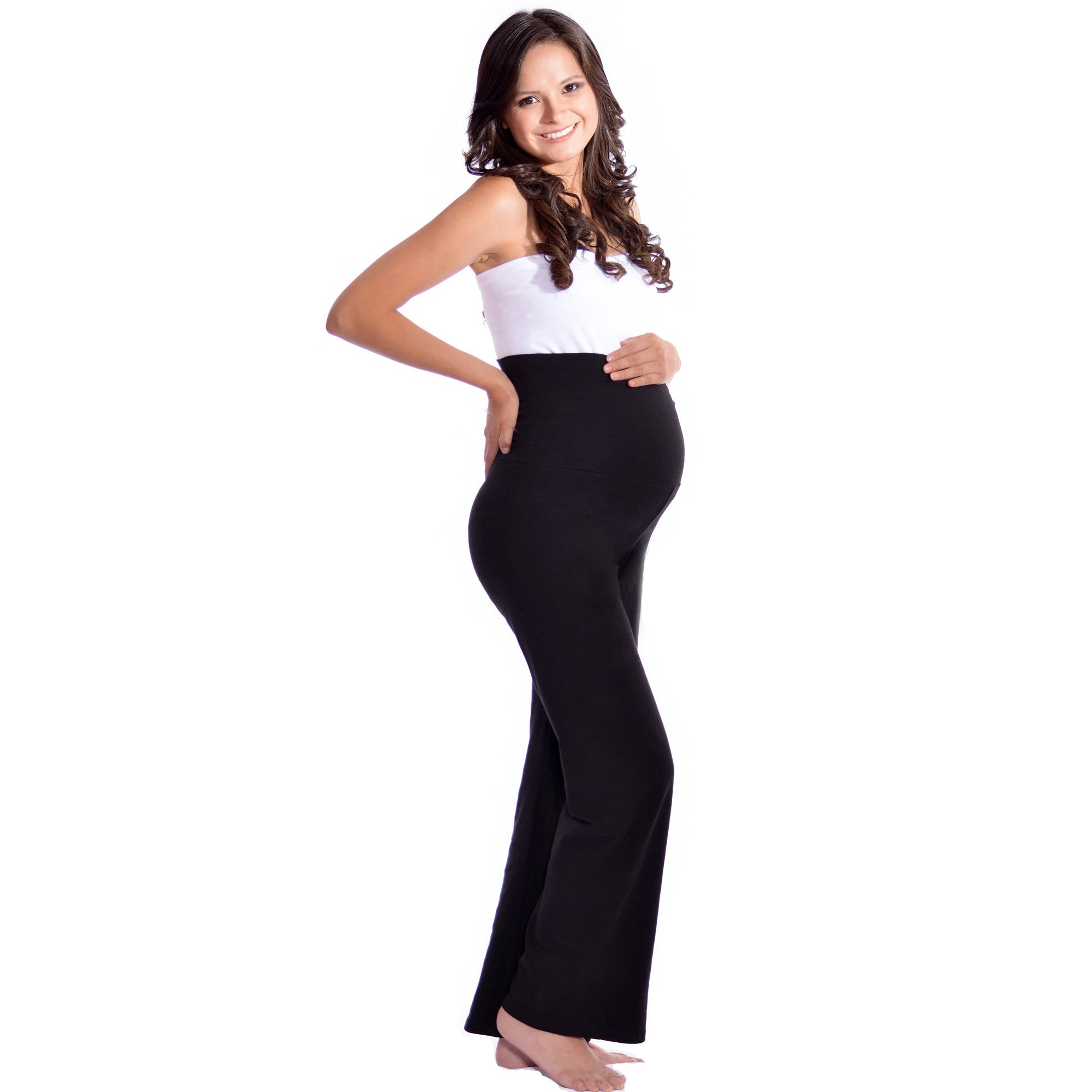 57843753994b7 Maternity Yoga Pants for Tall Women (if your height is 5'9