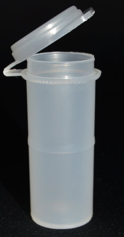 12ml (0.4oz) 3-Seal Touch-Top Container Vials, 50/Case
