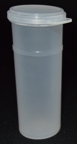 50ml (1.7oz) 3-Seal Touch-Top Container Vials, Tall, 100/Case