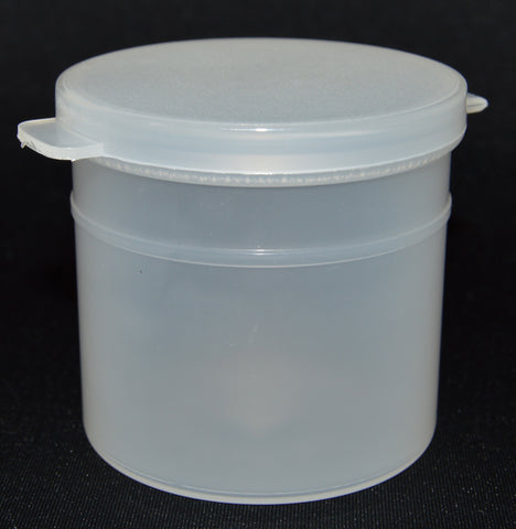 90ml (3oz) 3-Seal Touch-Top Container Jars with Attached Lids, 50/Case