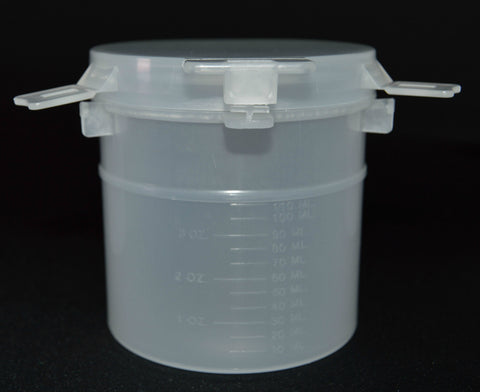 150ml (5oz) Tamper Evident Containers with Double Locking Latch, 50/Case