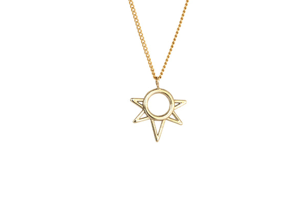 Mini Sun Necklace