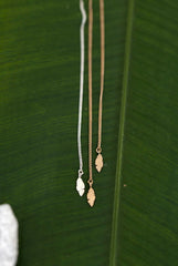 Banana Leaf Earring Threader