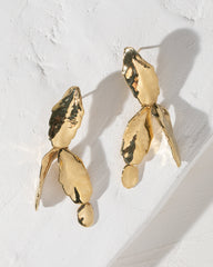 Cactus Leaf Earrings