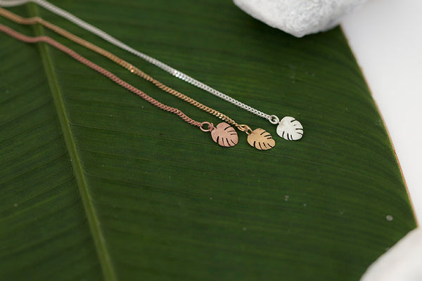 Hawaiian Leaf Earring Threader