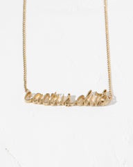 Cactus Club Necklace