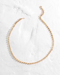 Circle Chain Choker Necklace
