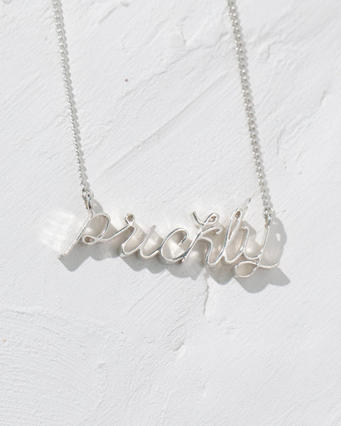 Custom Word/ Name Necklace