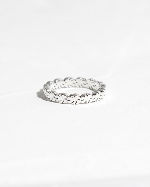 Crown Of Leaves Ring